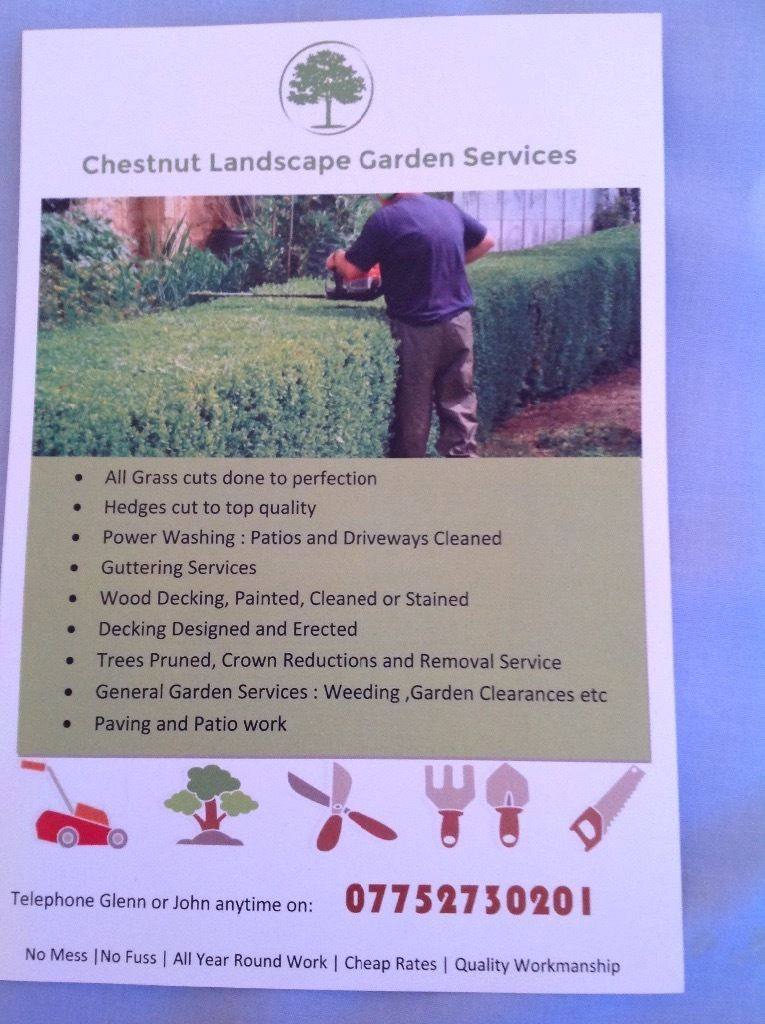 Grass cutting,garden services