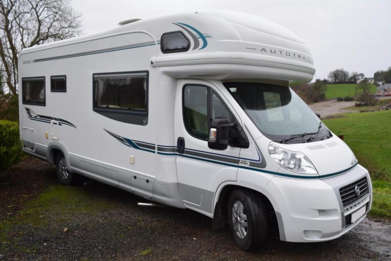 2008 Autotrail Scout SE 6 Berth Family Motorhome With Rear Lounge