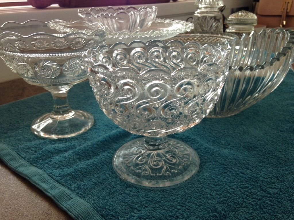 Wedding planners? ..vintage glass