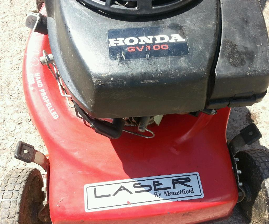 Mountfield Laser Lawnmower. Honda Petrol Engine