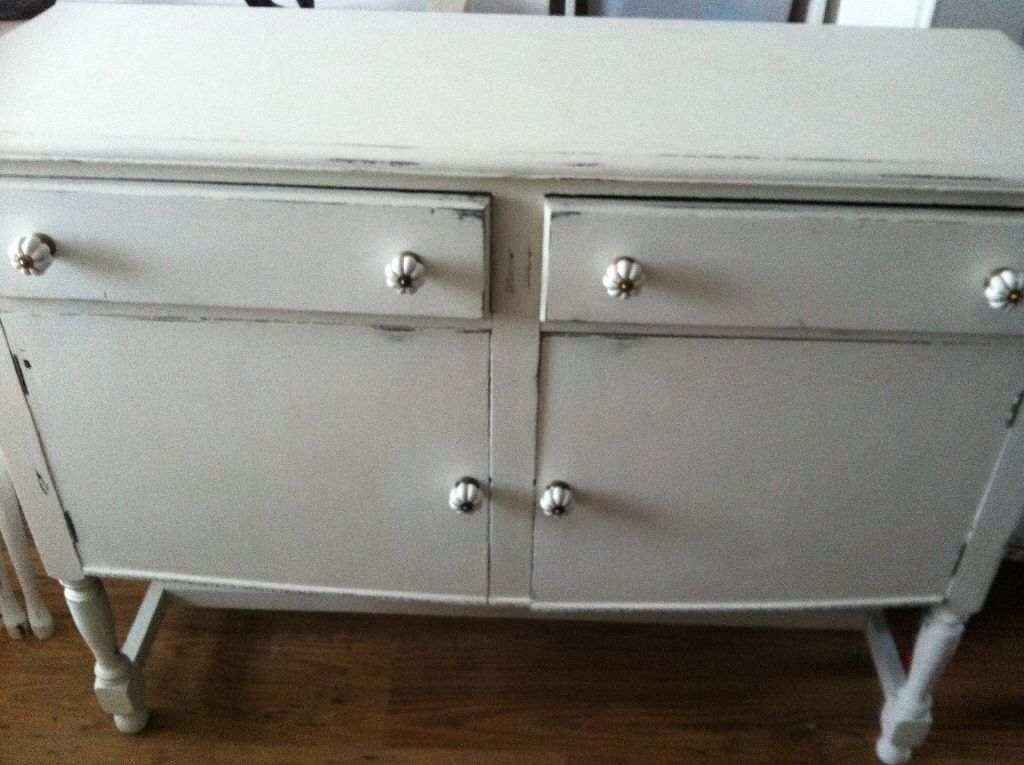 1930's shabby chic sideboard