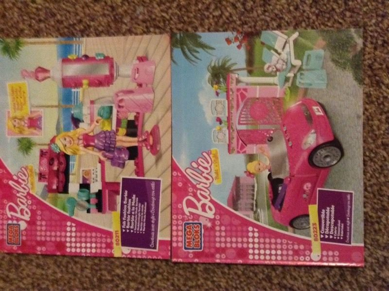 Barbie Mega Bloks build and style