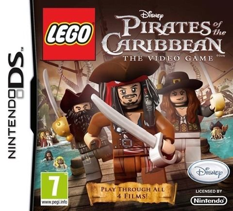 DS Games - Pirates of the Caribbean