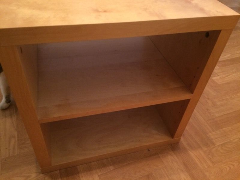 IKEA table / coffee / bedside table - with shelf