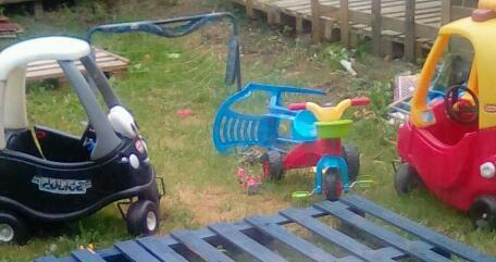 Little Tikes Cars (One normal, one Police)