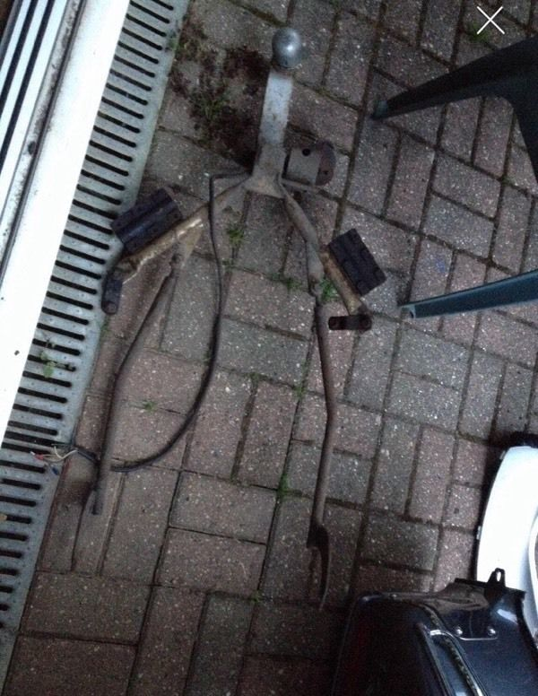 Honda gl1500 goldwing towbar