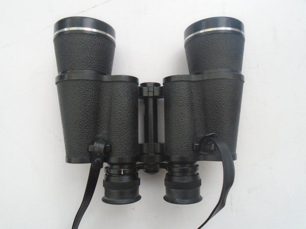 pentax binoculars 12/50 and leather case