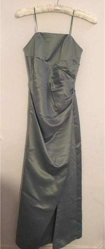 Bridesmaid dress with bolero