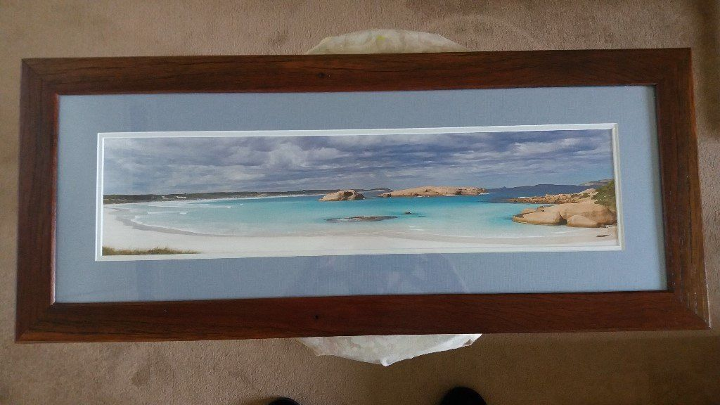 Solid Oak Framed Print/Picture - Sell or Swap