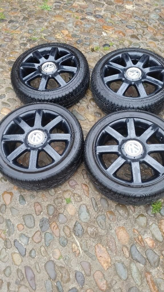 vw caddy 17inch alloys , should fit golf or t4