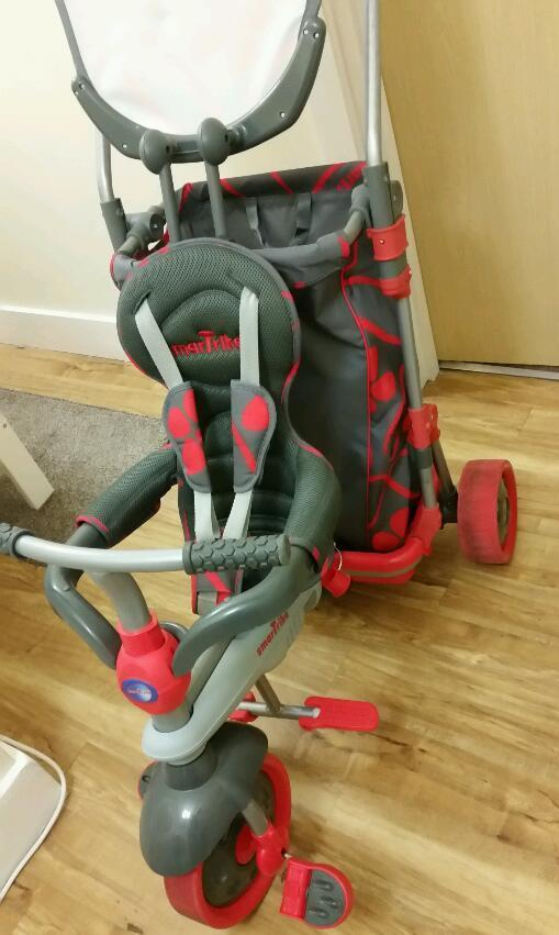 Smart Trike & Go 5 in 1 with Touch Steering Excellent Condition * HTF *