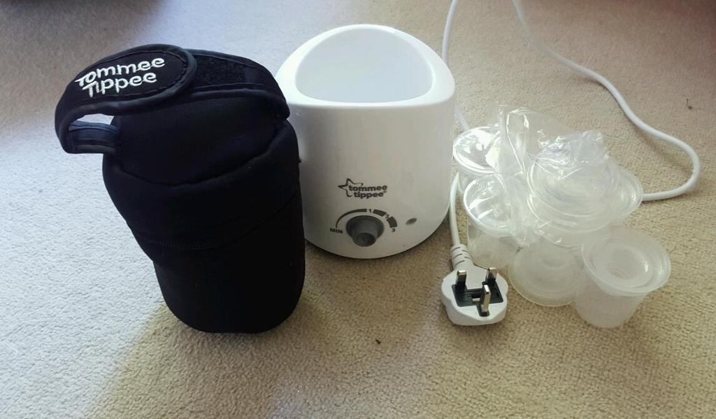 Brand new tommee tippee bottle warmer and accessories