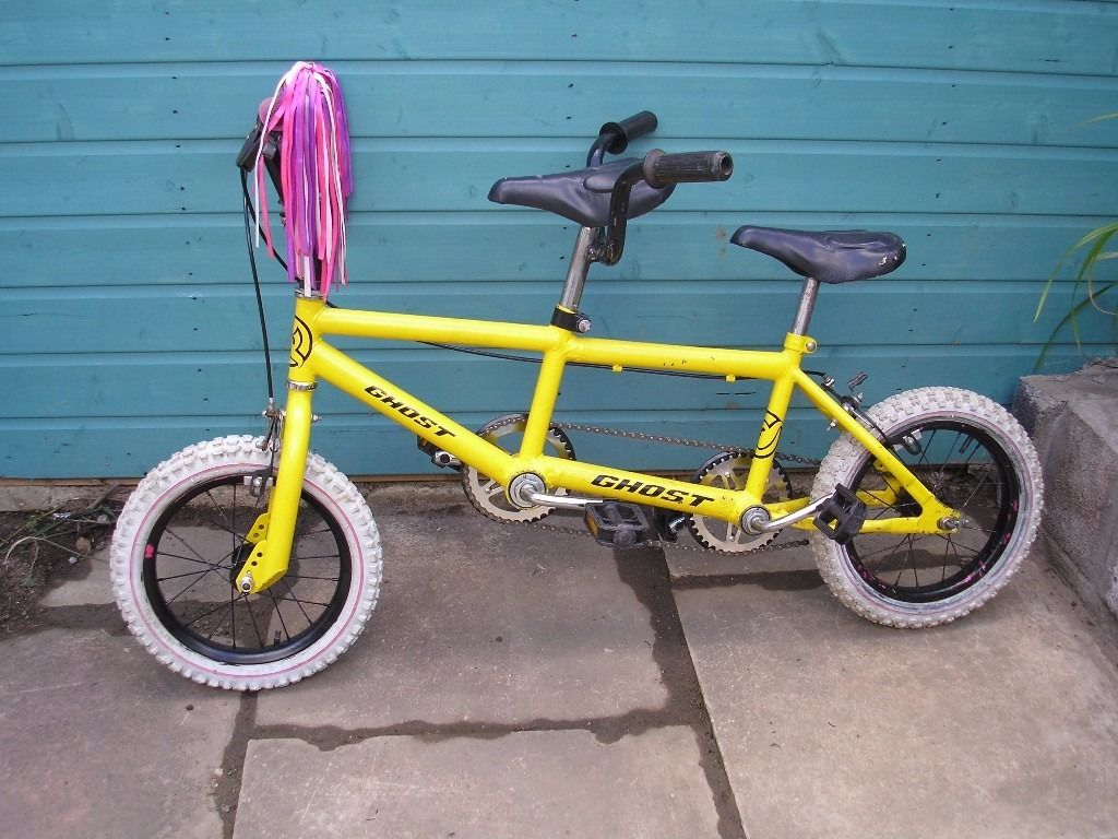 Childs tandem bicycle
