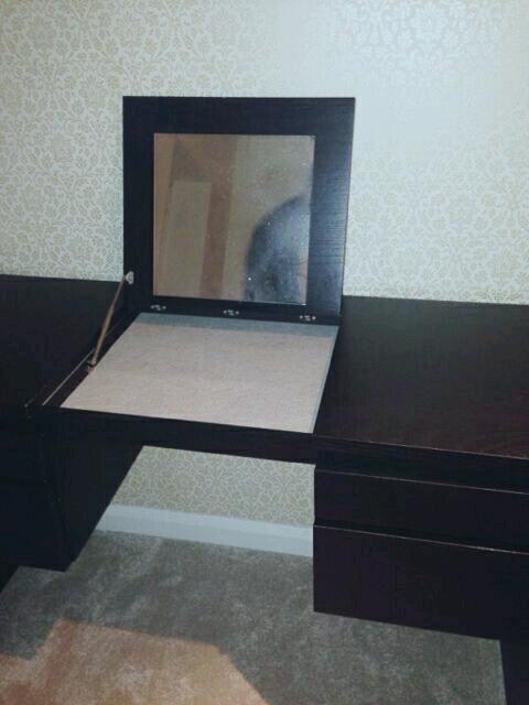 IKEA RANSBY Dressing Table in black