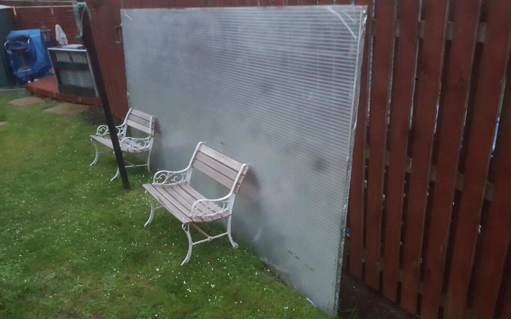 Perspex car port for sale cheap