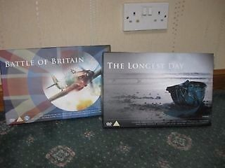 Battle of Britain & The Longest Day DVD Boxsets