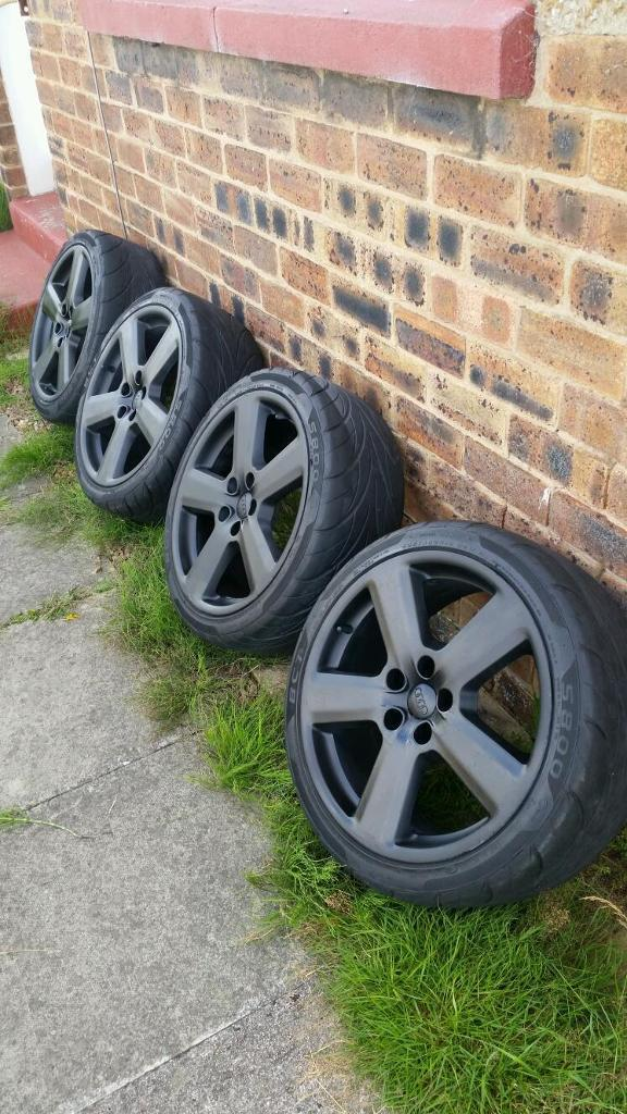 Audi alloy wheels 5 stud.