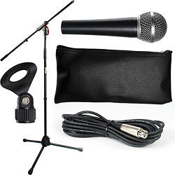 (BRAND NEW) Microphone and Stand Set with Cable Package