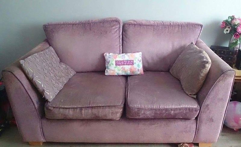 Free 2 seater and arm chair