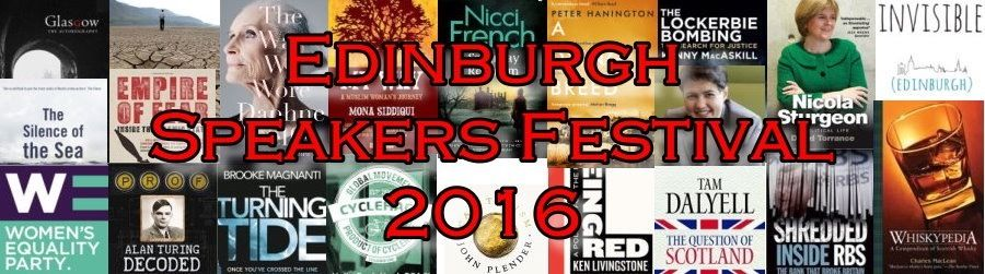 Volunteers for book festival 9-11 September Edinburgh - free tickets