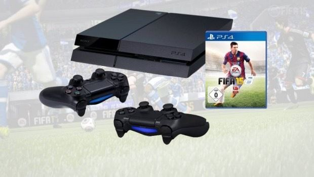 RAND BRAND NEW PS4 WITH FIFA16 & 2 CONTROLLERS