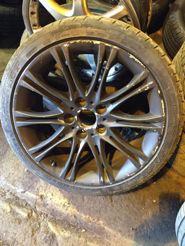 BMW alloy wheels 18""