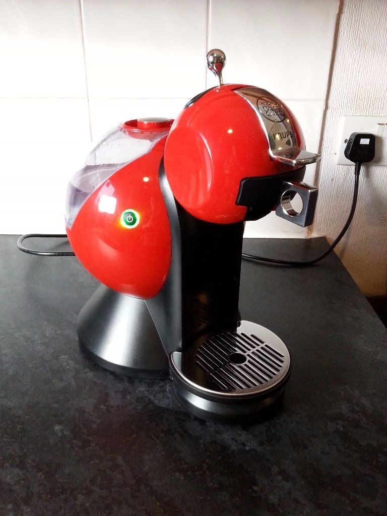 Dolce Gusto Krups Coffee Machine - Red