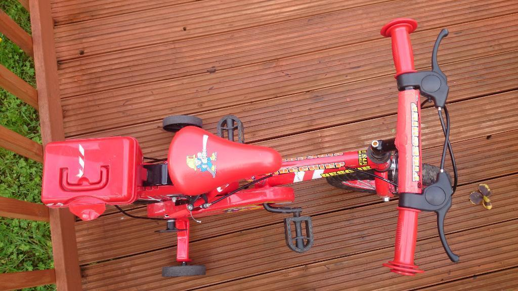 Child's Fire Chief Bike for sale