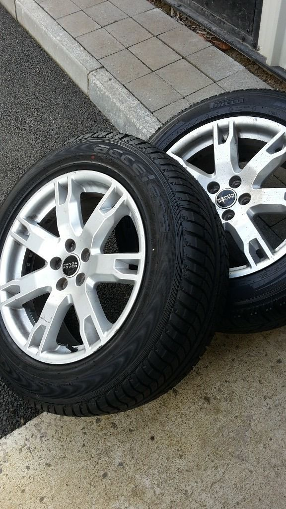 range rover alloy rims and tyres
