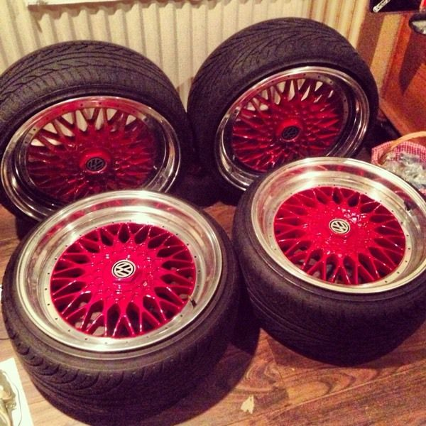 Dare RS alloys 5x112 18""