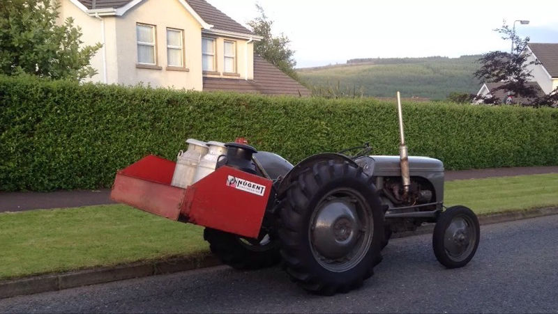 TVO tractor with extras....t20 ferguson