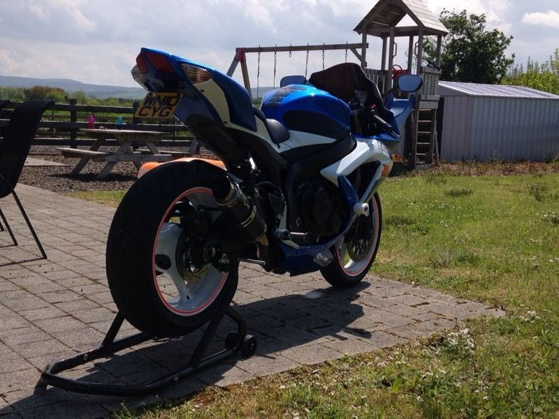 2010 gsxr 600 k9 for sale