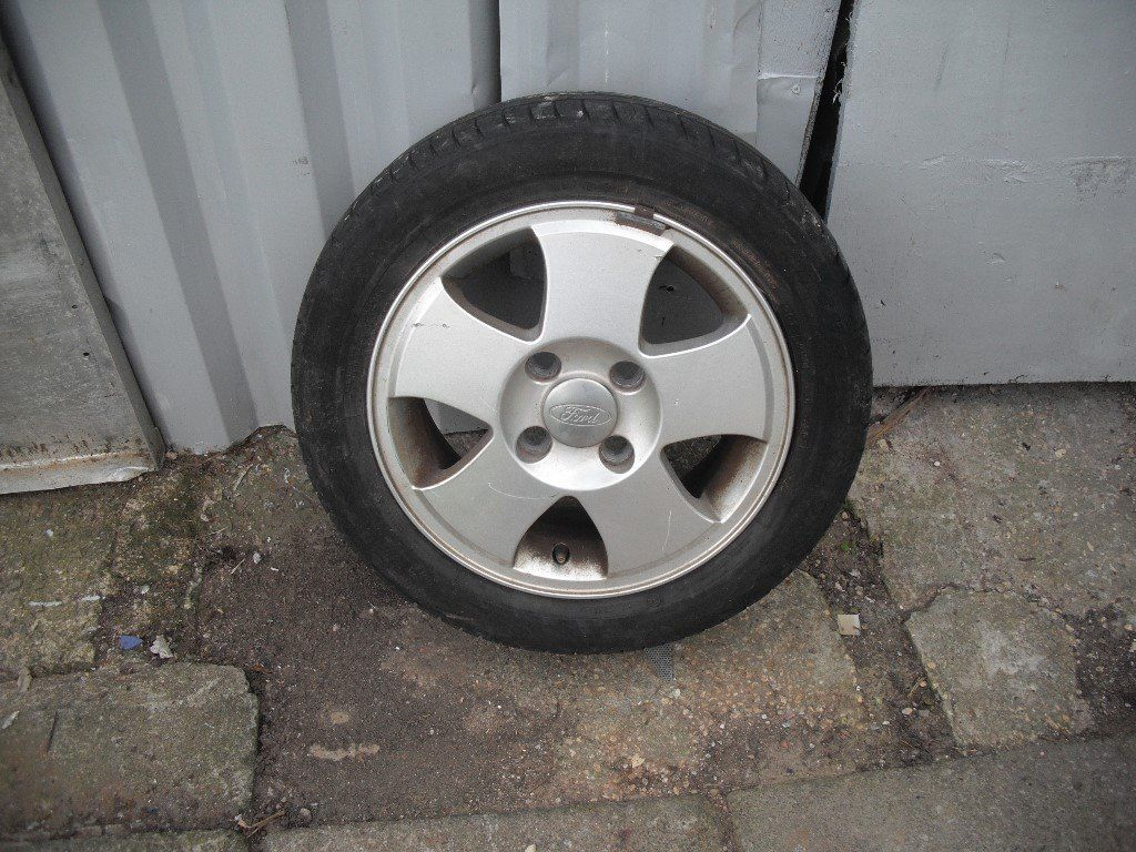 ALLOY WHEELS set 4 FORD FIESTA