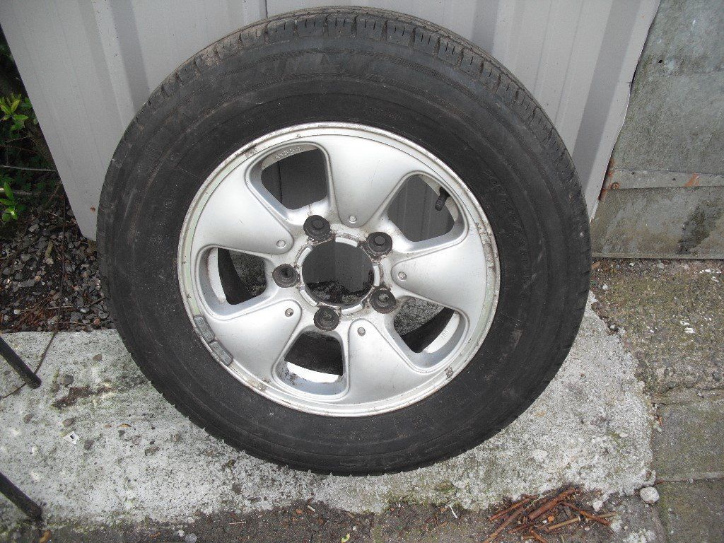 ALLOY WHEELS set 5 KIA SPORTAGE/SUZUKI VITARA