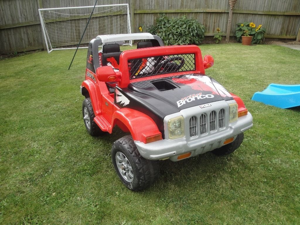 Large Kids electric 4X4 ride on