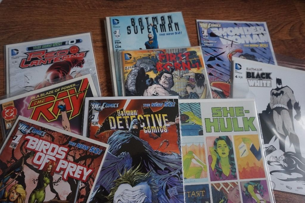 Large Modern Comic Collection & Graphic Novels for Sale