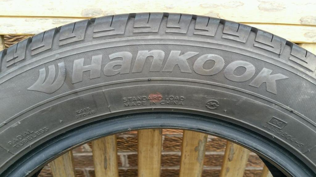 Hancook Optima 185/60 R15 84T tyre.