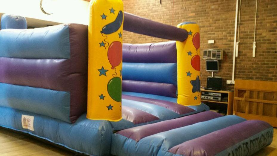 Bouncy castles x2 nearly new