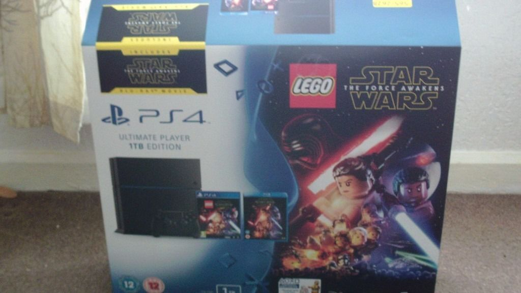 PS4 1TB Ultimate Player Star Wars Edition + 4 Games + 12 Months Guarantee