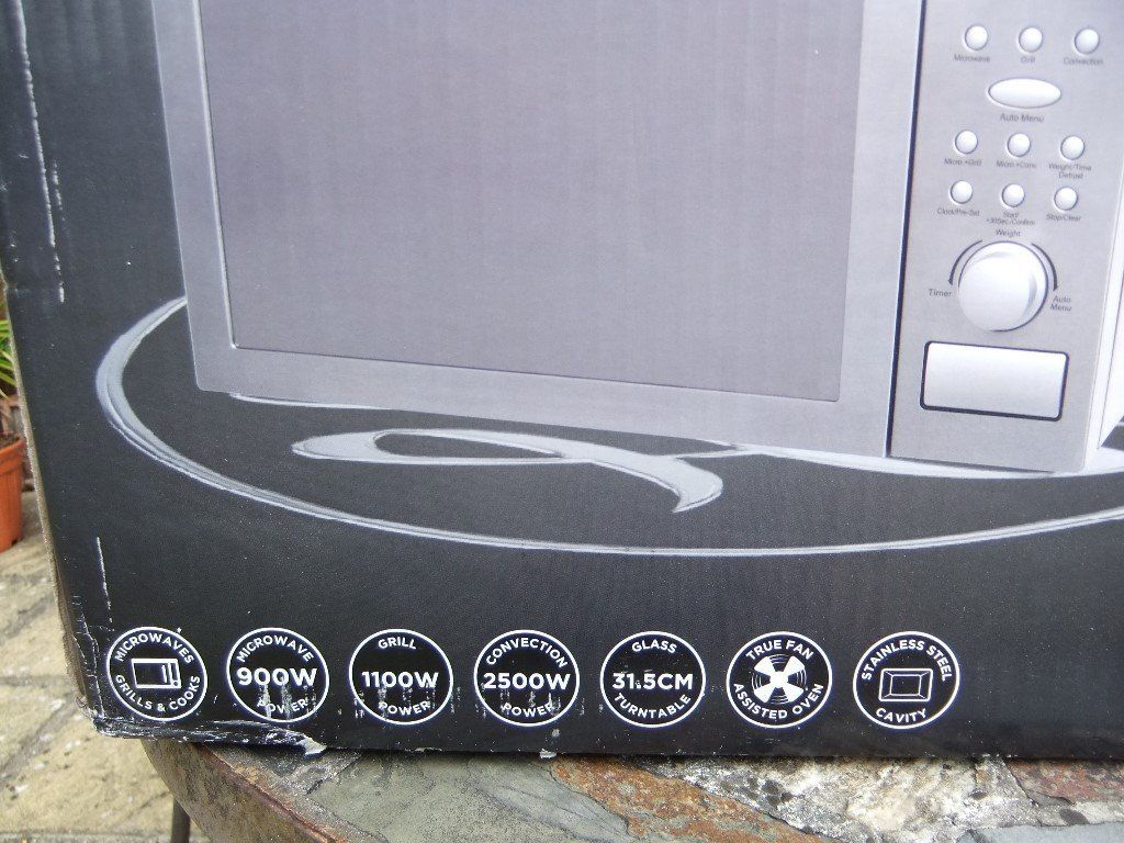 Russell Hobbs BRAND NEW UNOPENED 25l Combination Microwave