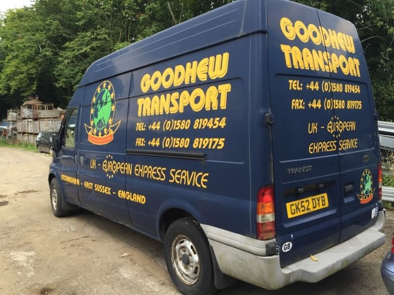 Ford transit 125 T350 rear wheel drive (duo tec) engine