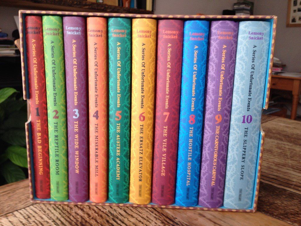 'A series of unfortunate events'