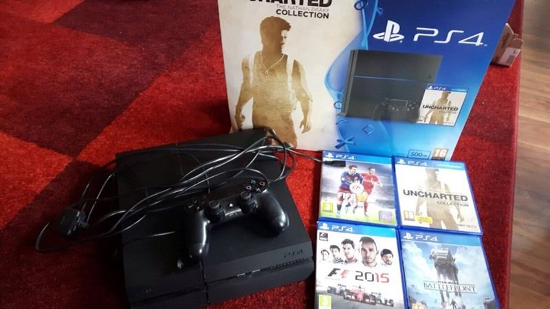 Ps4 and 4 games for sale!!