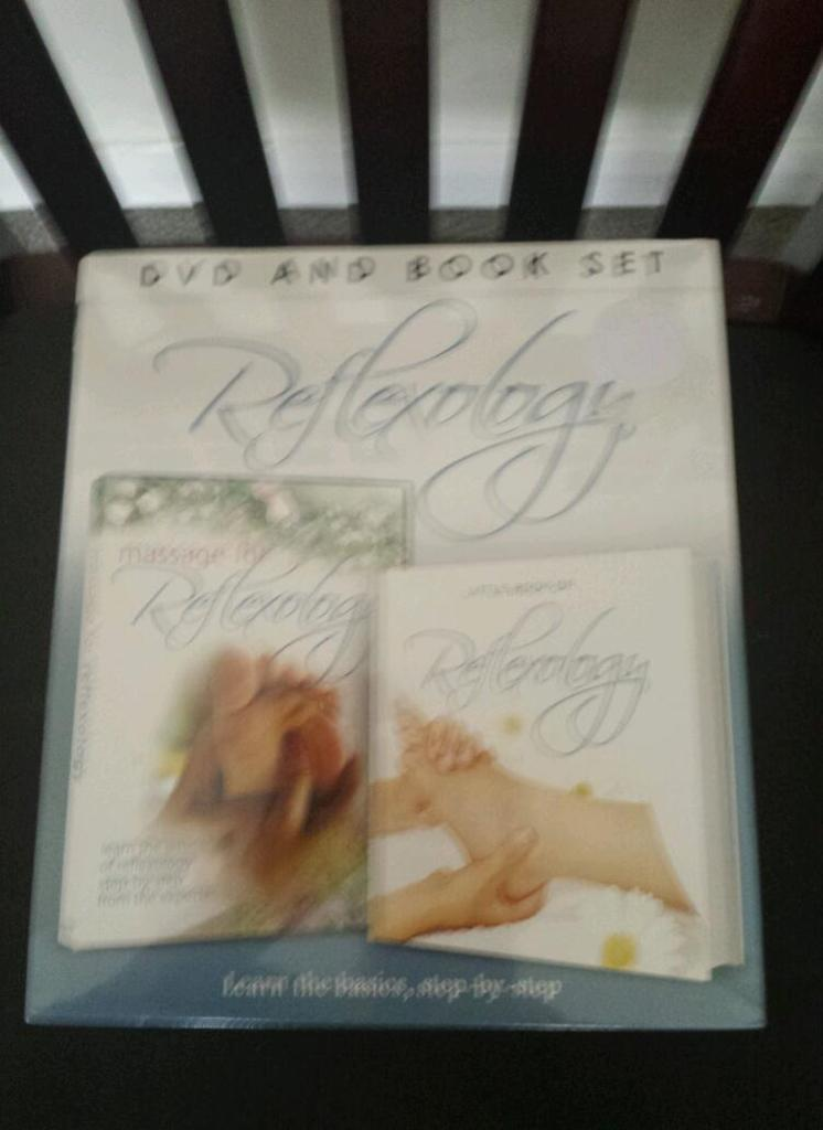 ***Reflexology book and dvd set***