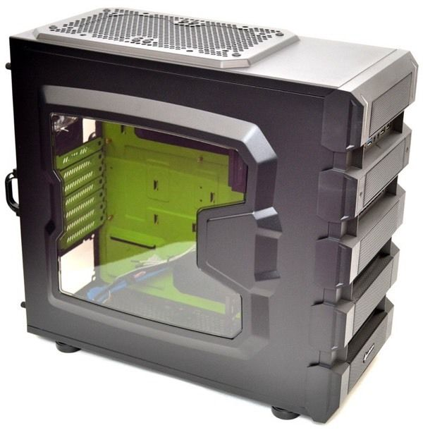 Sharkoon BD28 Mid Gaming Empty Tower Case
