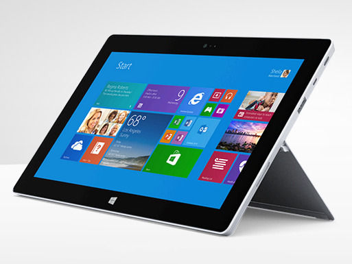 Microsoft Surface 2 Windows Tablet - Silver - 10.6""