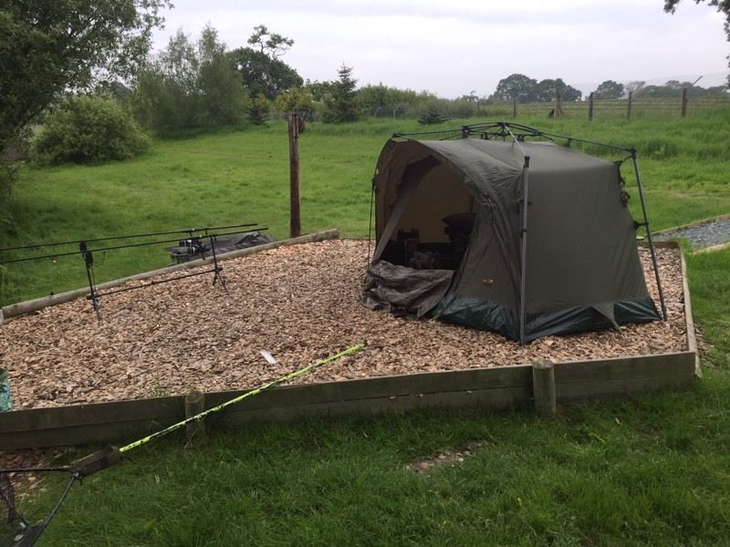 Tfg force 8 1 man bivvy used one in pic