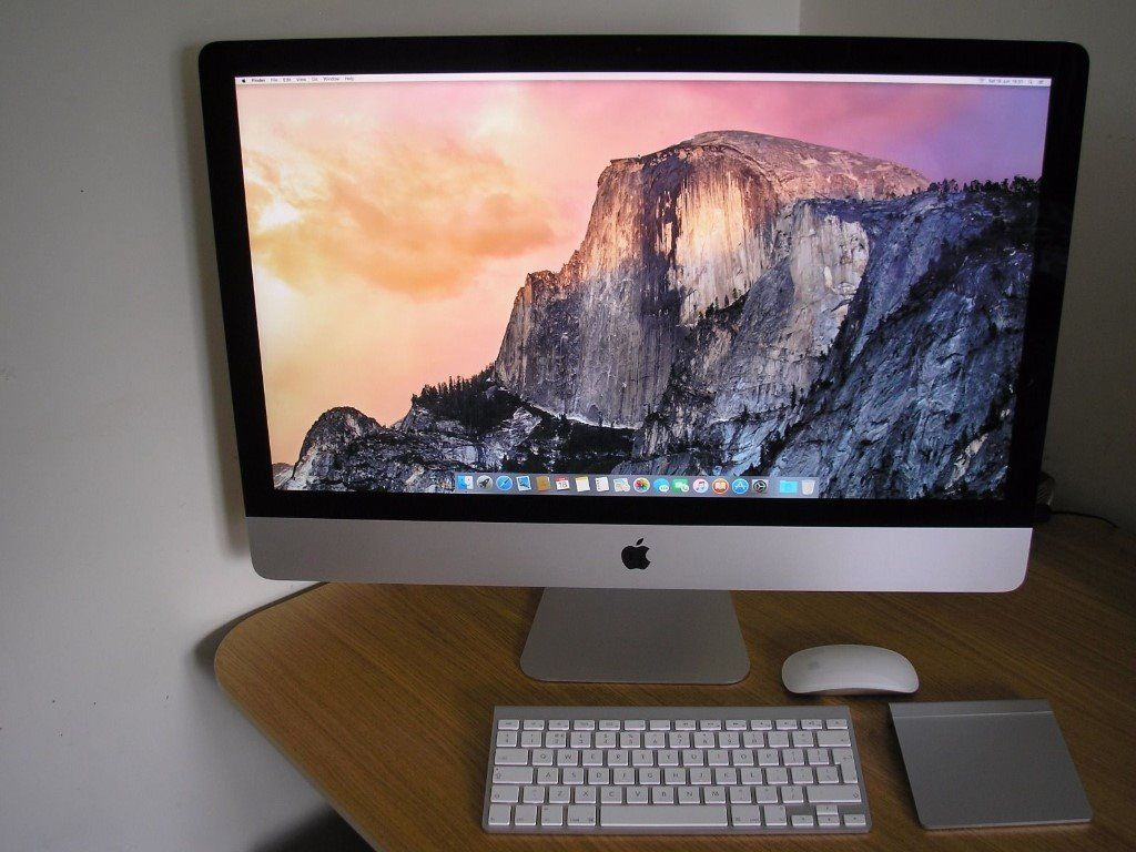 "Apple iMac 27"" 5K Retina Late 2014 (3.5GHz Intel Core i5, 8GB DDR3, AMD R9 290X)"