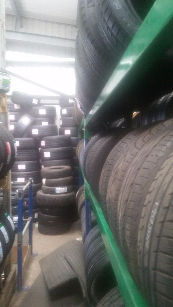 300 Job lot wholesale partworn tyres A grade 5mm+