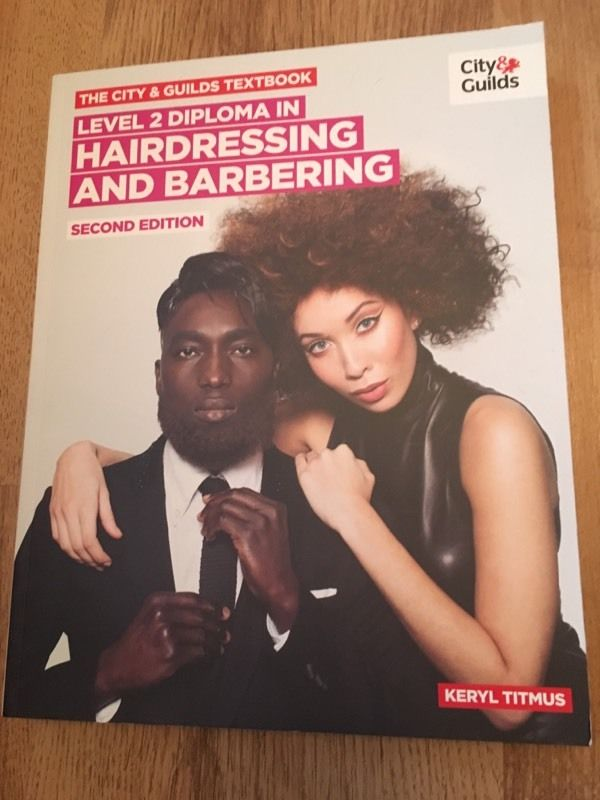 City and guilds hairdressing and barbering text book